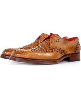 Passenger Dexter Mahogany Leather Shoe