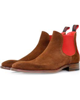 Horrorshow Libertine Honey Red Chelsea Boots
