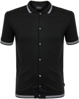 Nero Black Polo Shirt