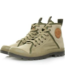 Pampa Hi Khaki Canvas Boot