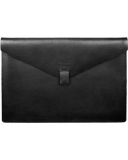 Gustav Black Laptop Case