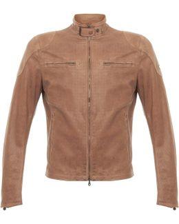 Osborne Vent Classic Natural Leather Jacket