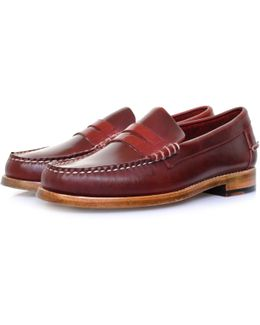 Legacy Penny Red Loafer Shoe