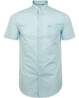 Gingham Green Shirt