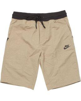 Beige Sportswear Shorts