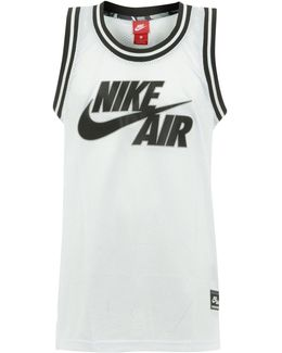Air Logo White Basketball Jersey