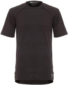 Black Jersey Short Sleeve
