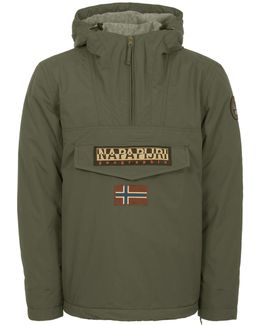 Military Green Rainforest Winter Jacket