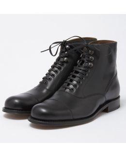 Leander Oxford Boot - Black