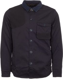 City Navy Clough Overshirt