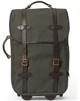 Otter Green Medium Rolling Carry-on Bag