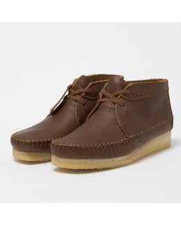 Tan Leather Weaver Boot