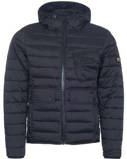 Navy Ouston Down Jacket