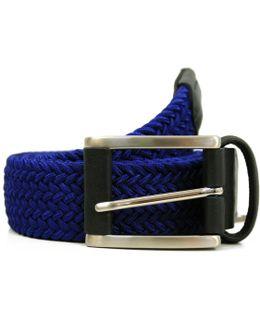 Anderson's Woven Blue Belt