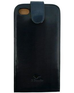 Iphone Leather Case Blue 14 021