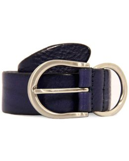 Anderson's Purple Leather Belt