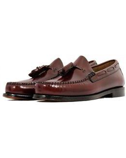 Bass Weejun Larkin Burgundy Loafer Shoe