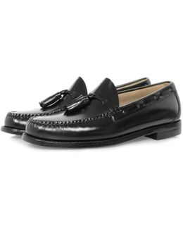 Bass Weejun Larkin Black Loafer Shoe
