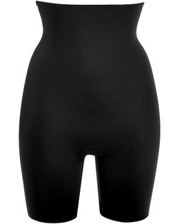 Slimplicity High-waisted Shaper In Black