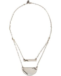 Sterling Silver Chasm Necklace