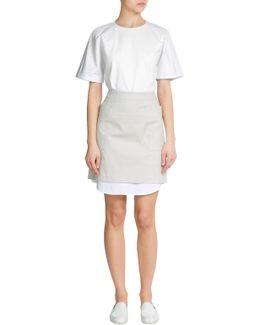 Eurymedon Stretch Cotton Skirt