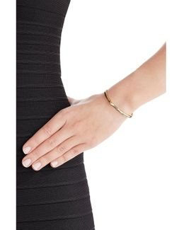 Peak 14kt Yellow Gold Plated Bangle