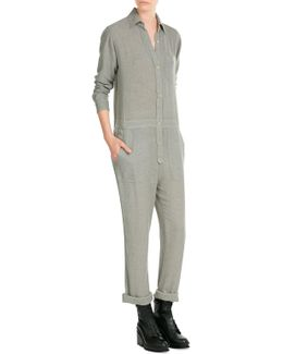 Wool-blend Coveralls