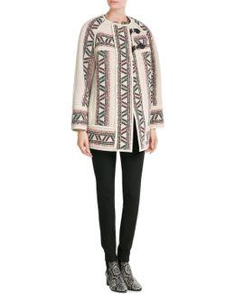 Wool-linen Coat