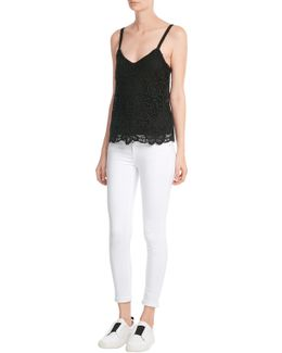 Lace Cotton Top