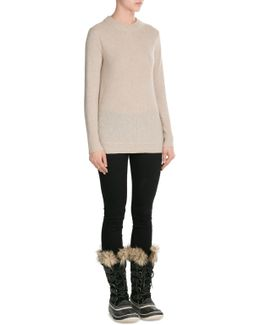Joan Of Arctictall Boots With Faux Fur