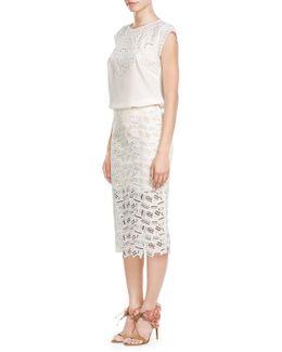 Eden Pencil Skirt