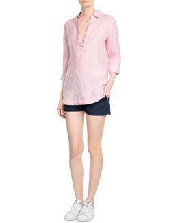 Linen Tunic Blouse