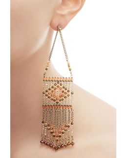 Bead Embellished Earrings