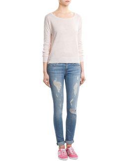 Linen-cotton Pullover