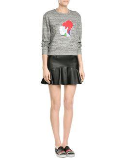 Printed Cotton Sweatshirt