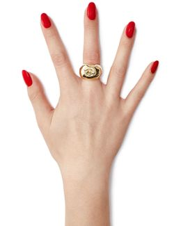 Lauren 18kt Yellow Gold Plated Ring