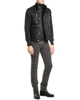Straight Leg Slim Jeans