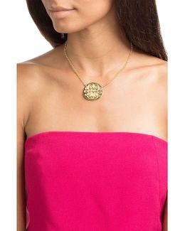 Diva Large 24kt Gold-plated Necklace