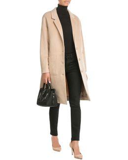 Wool-cashmere Blend Coat