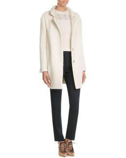 Cotton-wool Blend Coat