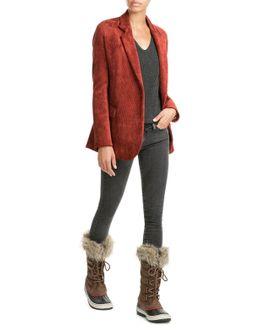 Joan Of Arctic Tall Boots With Faux Fur