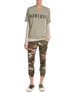 Homeboy Printed Cotton T-shirt