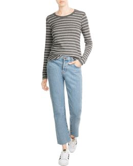 Long Sleeved Striped Top