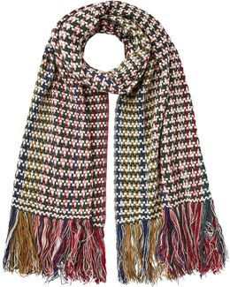 Alva Wool And Cashmere-blend Scarf