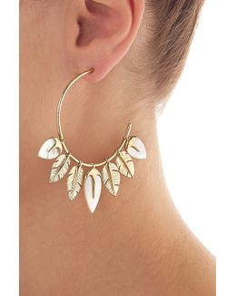 Creolen Talitha 18kt Gold Plated Earrings