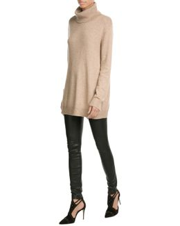 Turtleneck Pullover With Wool And Cashmere