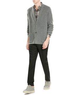 Extra Fine Merino Wool Cardigan