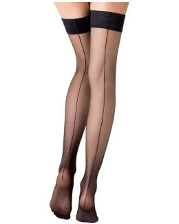 Stay-up Stockings With Seams
