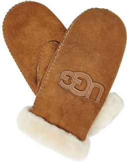 Shearling Lined Mittens