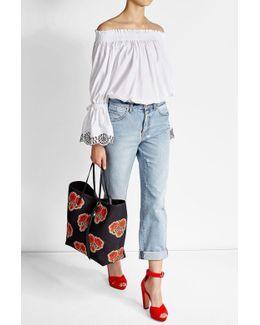 High-waisted Baggy Jeans